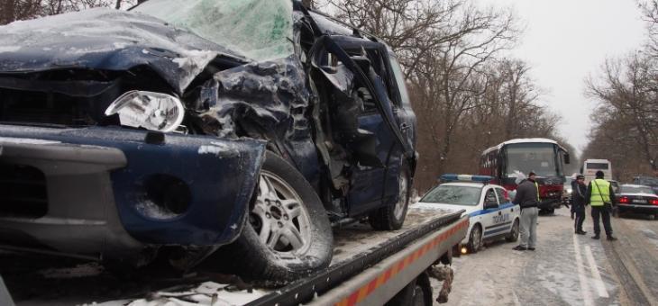 Тежка катастрофа с жертви около Пазарджик