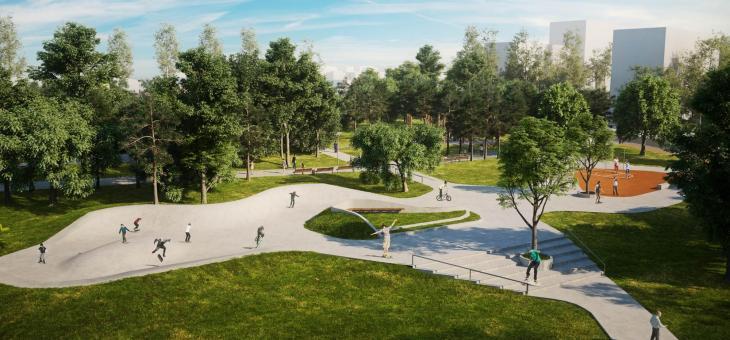 Продължението на парка готово до юни догодина