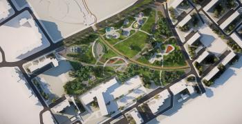 """До края на април е затворено движението заради изграждането на кръгово край парк """"Артилерийски"""""""
