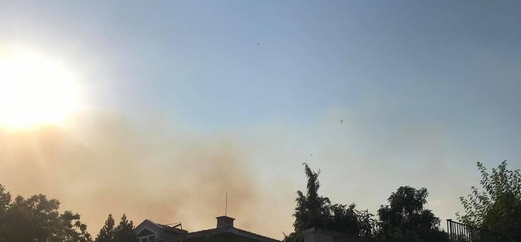 """Голям пожар в малкия """"Железник"""" в Стара Загора"""