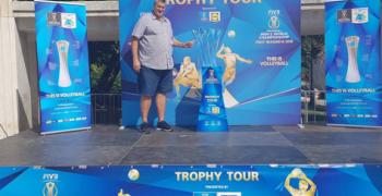 """""""Трофи тур"""" на Купата за Световното първенство по волейбол избра и Стара Загора за своето шоу"""