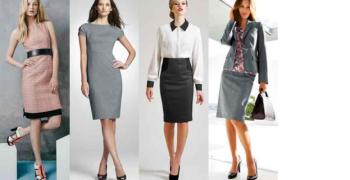 Модни тенденции при офис роклите