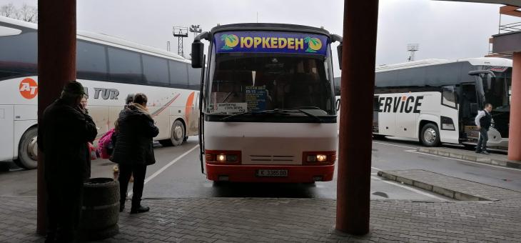 Автобусните превозвачи протестират символично