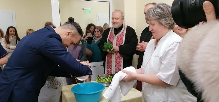 В АГ клиниката в Стара Загора отбелязаха Бабинден