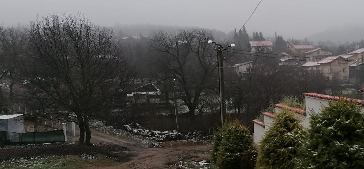 Сняг в старозагорски села