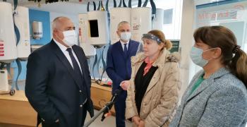 Борисов: Управляваме най-правилно финансите, икономиката и здравните мерки