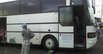 Задържаха пиян шофьор на автобус пълен с деца
