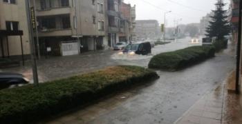 МОСВ предупреждава: Има опасност от поройни наводнения