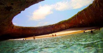 Скритият плаж