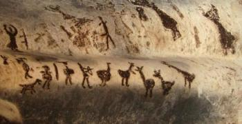 Пещерна живопис на близо 44 000 години
