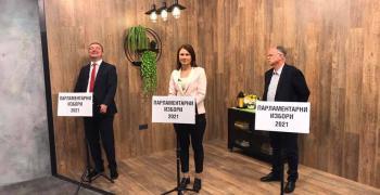 Кръстина Таскова от ВОЛЯ надделя в дебат с БСП и ВМРО
