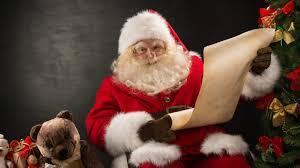 Дядо Коледа чука на вратата