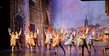 """Балетът """"Дон Кихот"""" на сцената на Държавната опера в Стара Загора"""