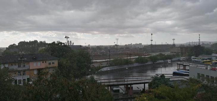 Проливен дъжд в Стара Загора