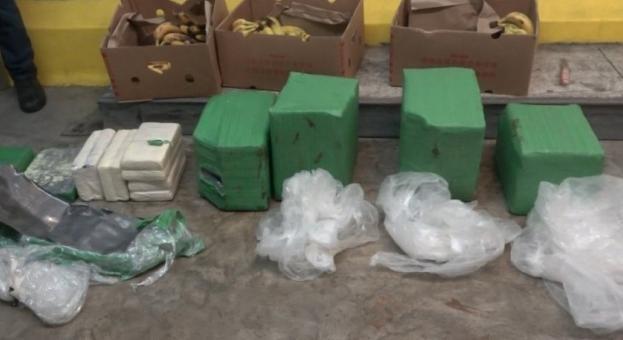 Куче откри над 70 кг кокаин в контейнер с банани