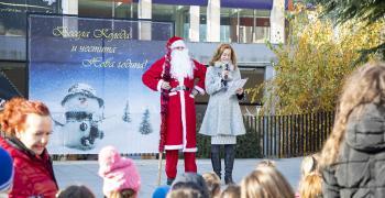 С празник посрещнаха елените на дядо Коледа