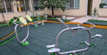 Откриха стрийт  фитнес площадка в старозагорска детска градина