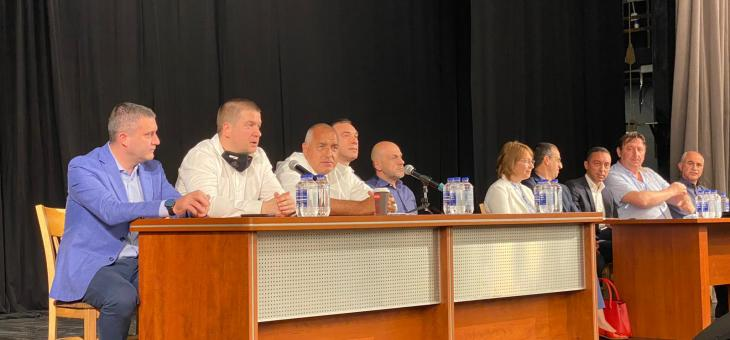 Борисов: Атаките срещу мен няма да ме спрат, ГЕРБ работи добре и без Цветанов