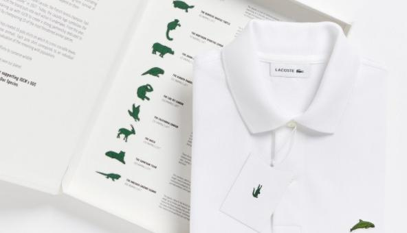 Lacostе смени легендарното лого на крокодил със застрашени видове