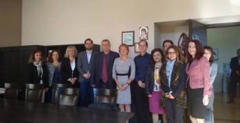 Магистрати от Германия и Холандия на работно посещение в Окръжния съд