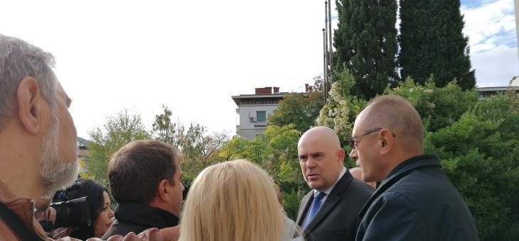 Главният прокурор Иван Гешев в Стара Загора: Прокуратурата ще бъде безкомпромисна