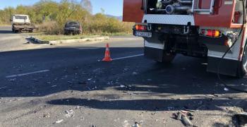 Жена загина при катастрофа на пътя Казанлък - Павел баня