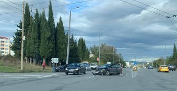 Пътен инцидент в Стара Загора
