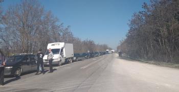 Инцидент с камион край чирпанското село Гита