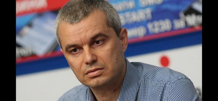 Костадин Костадинов ще се кандидатира за президент