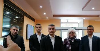 """""""Продължаваме промяната"""" регистрира листата си в РИК - Стара Загора"""