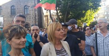 Манолова: Борисов, отиди си с мир. Не предизвикай безредици
