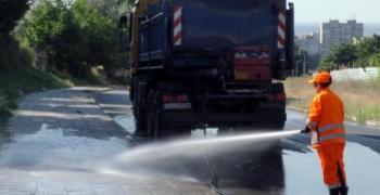 Предварителен график за миене на улиците в Стара Загора