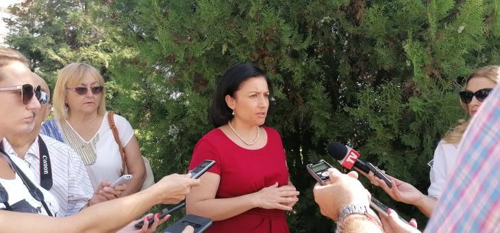 Министър Танева в Стара Загора: Ще изпратим тежка година