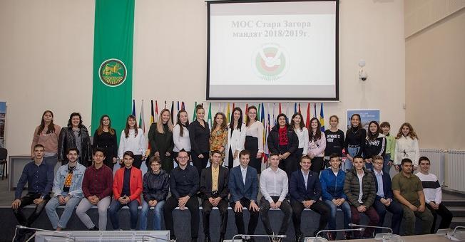 Младите общински съветници на Стара Загора се събраха на тържествена сесия