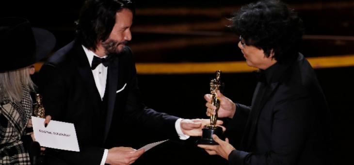"""Триумф на южнокорейския филм """"Паразит"""""""