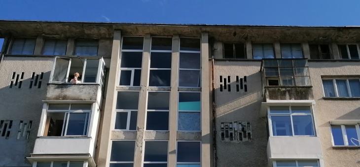 Старозагорка изнесе импровизиран концерт от своя балкон