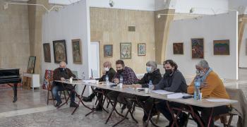 Надежда Кутева получава голямата награда на Петото Балканско квадринале на живописта