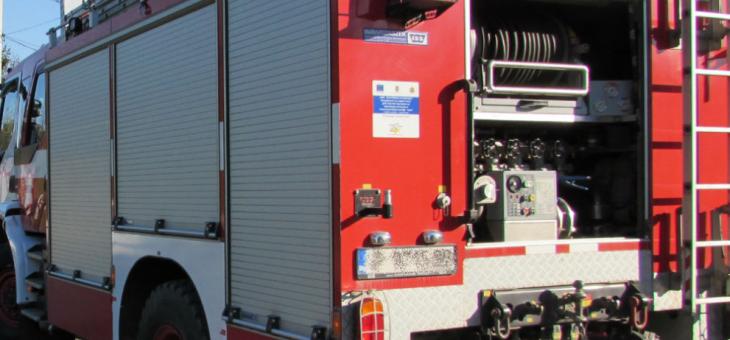 В Стара Загора пожар нанесе щети на леки автомобили