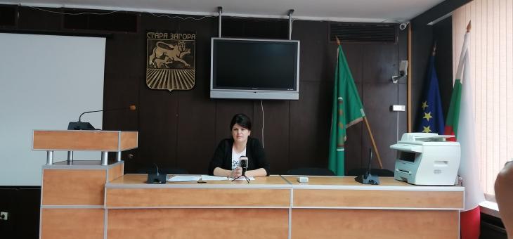 Мария Динева е в УС на Националната асоциация на председателите на Общински съвети