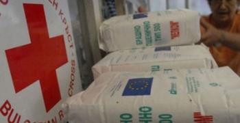 БЧК: Започва раздаването на хранителни продукти
