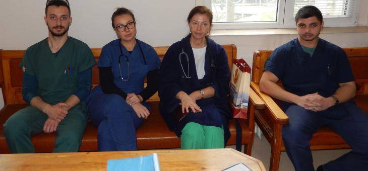 Бъдещи лекари от Тракийски университет в борбата с COVID-19