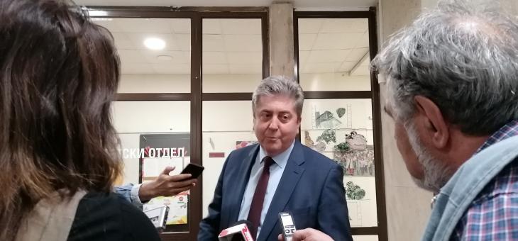 """Георги Първанов: Трябва да направим всичко възможно, за да удължим живота на комплекса """"Марица изток"""""""