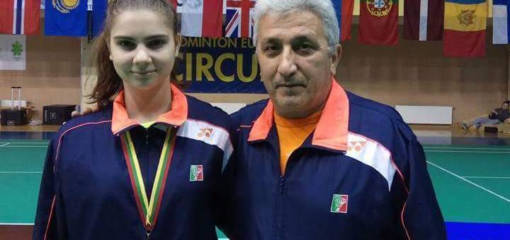 Бадминтон: Мария Делчева спечели титлата от турнира в Клайпеда