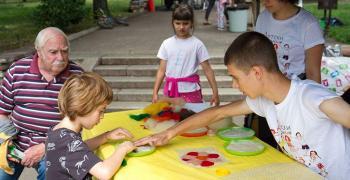 Стотици деца на Арт панаира в Стара Загора