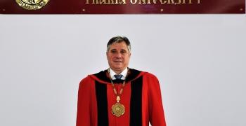 Обръщение на ректора на ТрУ доц. д-р Добри Ярков към всички служители и студенти на висшето учебно заведение