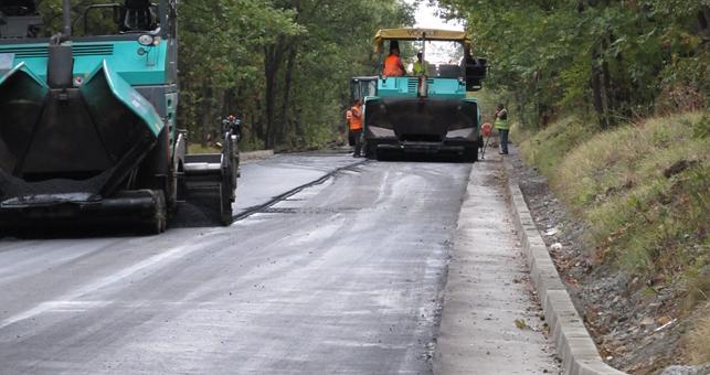 Ремонтират пътя Сливен - Стара Загора