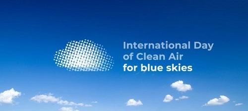 Международен ден на чистия въздух за синьо небе