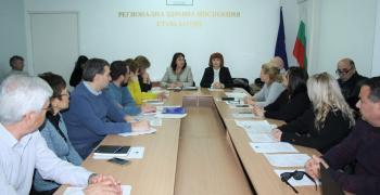 В Стара Загора се проведе работна среща за коронавируса