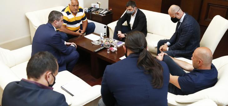 Министър-председателят Бойко Борисов се срещна с представители на ресторантьорския и хотелиерския бранш