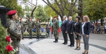 Стара Загора отбеляза тържествено 113 години от обявяване на Независимостта на България
